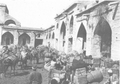 A caravanserai on the road to Shiraz.