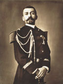 Pierre Loti in naval officier uniform (about 1880-1890) Coll. part. © AKG Paris